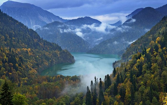 11 Ritsa Abkhazia