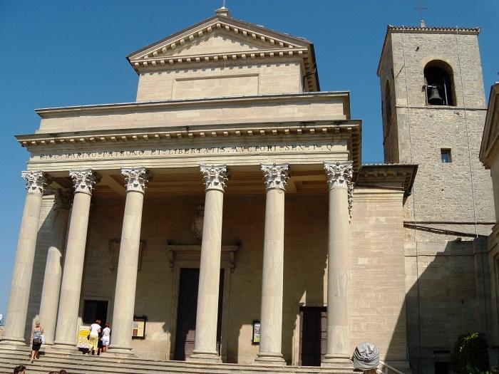 3 San Marino Basilica