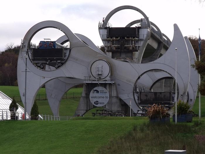 5 Falkirk Wheel