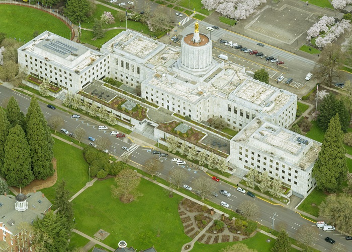 10 Oregon Capitol