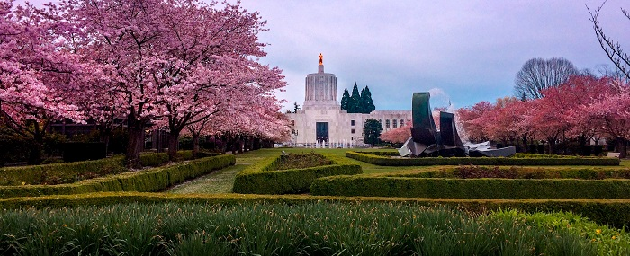 9 Oregon Capitol