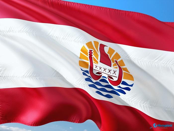 5 Tahiti Temple FLAG